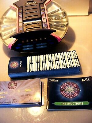 £14.99 • Buy Who Wants To Be A Millionaire Tiger Electronic 2000 GAME TESTED COMPLETE