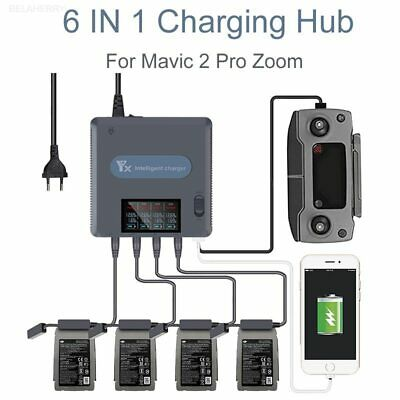 AU89.56 • Buy 6 IN 1 Fast Smart Battery Charging Hub Charger For DJI Mavic 2 Pro/Zoom Drone