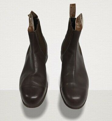 £95 • Buy RM Williams Brown Adelaide Chelsea Boots. Size 4 EU 37