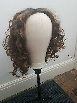 £25 • Buy Lullabellz - The Saskia - Brown Tight Curls Lace Front Wig