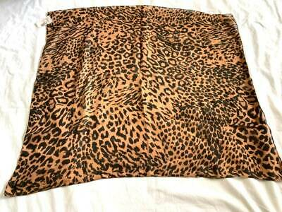 $8.95 • Buy NEW Cotton Bandana Scarf Large 26x27  Leopard NO Flaws