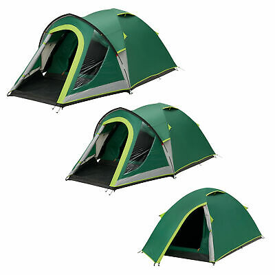 £104.50 • Buy Coleman Kobuk Valley Tent 2 3 4 Man Person Blackout Dome Camping Hiking Festival
