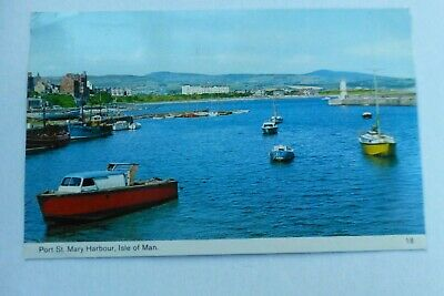 £3.50 • Buy P562 Port St Mary Harbour ISLE Of MAN Postcard 1973