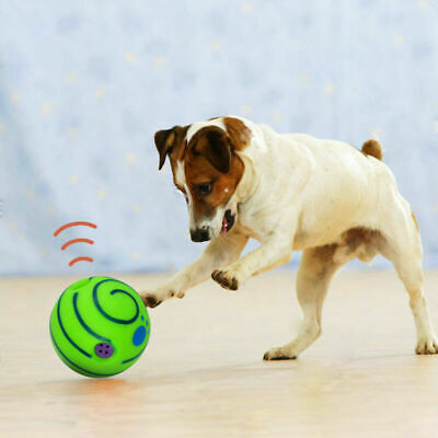 £7 • Buy Ball Dog Play Pet Wobble Wag Giggle Playing Toys With Funny Sound No Harm 2021