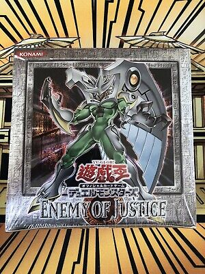 £499.99 • Buy Yu-Gi-Oh! Enemy Of Justice, Sealed Booster Box!