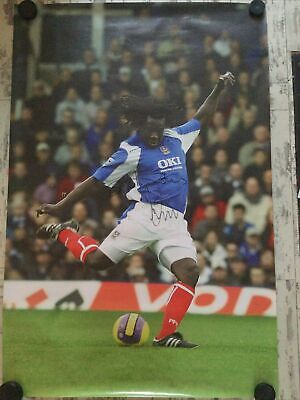 £20 • Buy Rare Large Linvoy Primus Signed Photo Poster Action Portsmouth FC Pompey 137x91