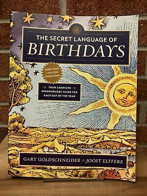 £18.68 • Buy The Secret Language Of Birthdays : Your Complete Personology Guide For Each Day