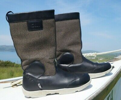 £235 • Buy Gill Leather Deck Boots : Breathable Sz 9 / 43 (V Rare)