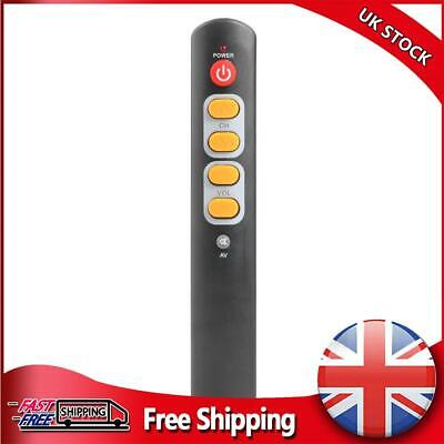 £4.74 • Buy Universal 6 Key Learning Remote Control Big Yellow Button Copy IR Remote