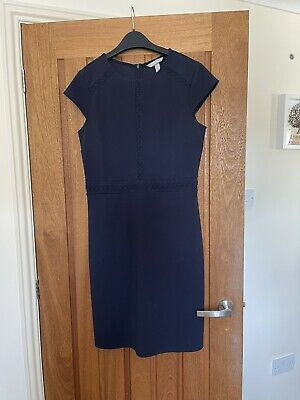 £5 • Buy Navy Work Dress From H&M Size M