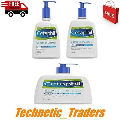 £7.75 • Buy Cetaphil Gentle Skin Cleanser 236ml, 473ml , 1 Litre , Free *FAST 🇬🇧 DELIVERY*