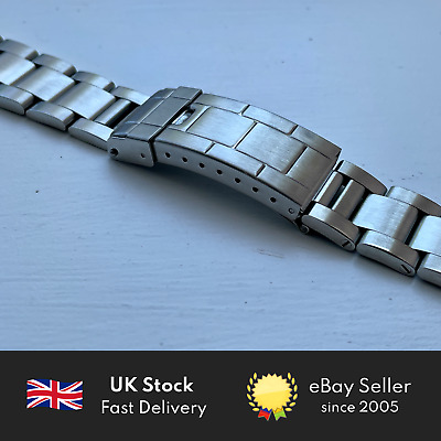 $ CDN68.93 • Buy 20mm Stainless Steel Replacement Oyster Watch Bracelet Made For Rolex Submariner