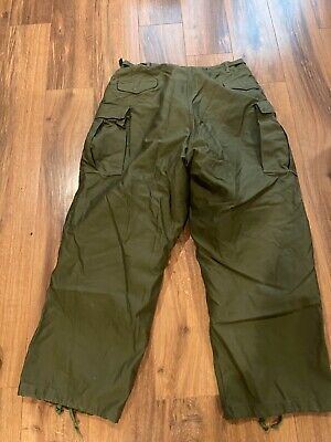 $65 • Buy M1951 Field Trousers Xl Long With M65 Liners
