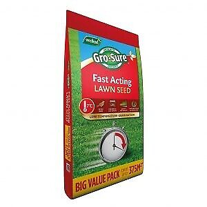 £62.49 • Buy Westland Gro-Sure Fast Acting Lawn Seed Grass Seed 375m2