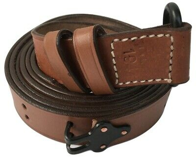 $ CDN34.46 • Buy US 1941 M1 Garand Rifle Sling Leather Steel Fitting Tan Color Reproduction