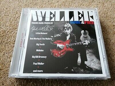 £4 • Buy PAUL WELLER Soul And Fire 10 Track CD Compiled By Weller BOB MARLEY BIG YOUTH +