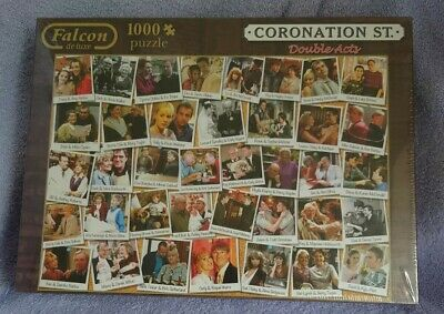 £14 • Buy  Falcon DeLuxe - Coronation Street Double Acts, 1000 Piece NEW Sealed