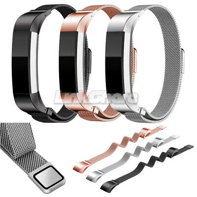 AU8.81 • Buy For Fitbit Alta Milanese Magnetic Loop Metal Strap Stainless Steel Wrist Band Se