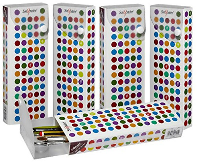 £20.30 • Buy Snopake Polka Dot PenPal Stationery And Storage Box/Case With Slide-Out Draw Of