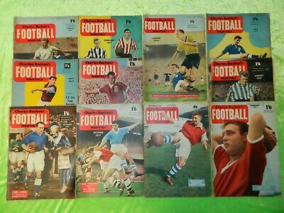 £20 • Buy CHARLES BUCHAN'S FOOTBALL MONTHLY : 1957 - Incomplete Set Of 11 Issues (216)