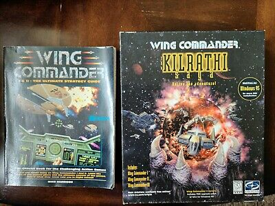 AU114.91 • Buy Wing Commander Kilrathi Saga PC Game Complete Big Box TESTED With Strategy Guide