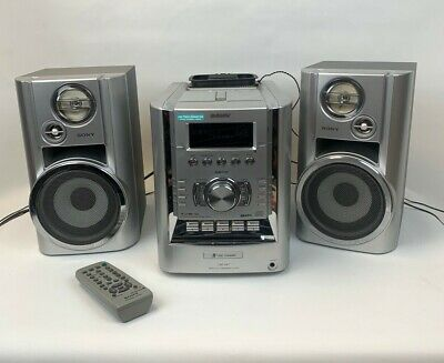 £70 • Buy Sony CMT- HP7 Hi-Fi Stereo System With CD Player Cassette Deck And MP3 Aux