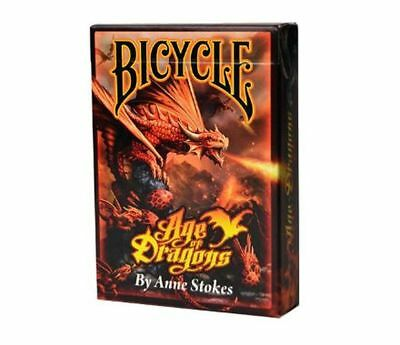 £5.30 • Buy Anne Stokes Age Of Dragons Bicycle Poker Size Playing Card Deck.