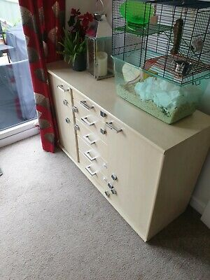 £18.50 • Buy Solid Wooden Sideboard Used