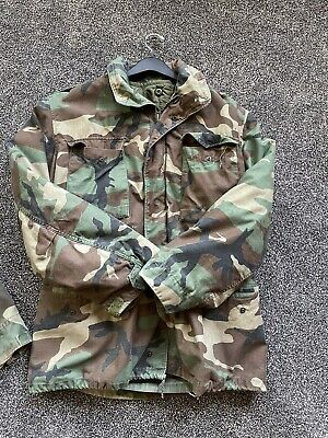 $59.99 • Buy Vintage US Army Military M-65 Cold Weather Field Coat Jacket Size Medium Long