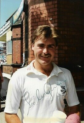 £3.99 • Buy Steve O'SHAUGHNESSY, Lancashire & Worcestershire Cricketer Signed Colour Photo