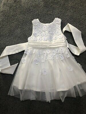 £9.99 • Buy Baby Girl's Bridesmaid Christening Party Dress 12 Months 1 Year