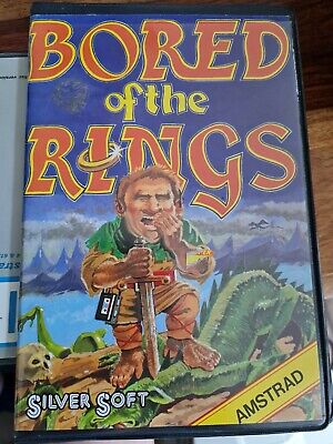 £5 • Buy Bored Of The Rings - Silver Soft - Amstrad CPC 6128 - No Disk