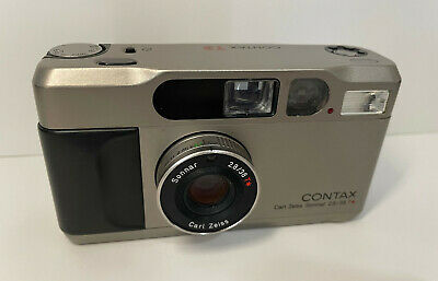 $ CDN649.99 • Buy Contax T2 35mm Point & Shoot Compact Film Camera (For Parts)
