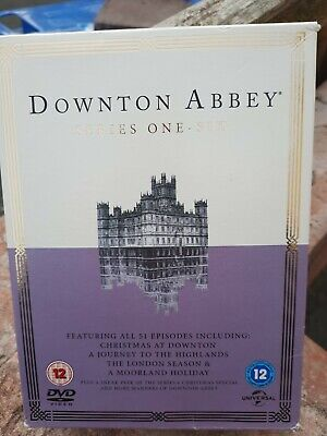 £17.99 • Buy Downtown Abbey Complete Series 1-6 Dvd