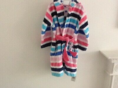 £7 • Buy Marks And Spencer Girl Dressing Gown 3-4 Year