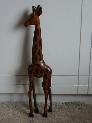£8.99 • Buy African Hand Carved Wooden Giraffe