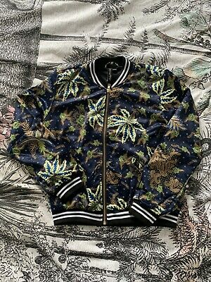£22 • Buy Ruby Rocks Silky Bomber Jacket (bought From Sugarhill Brighton Shop) Size 10