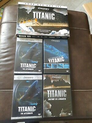 £2.95 • Buy Discovery Channel Titanic 4. Dvd Box  Set New