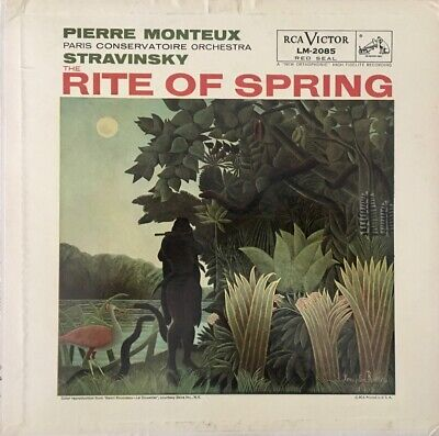 £56.64 • Buy Stravinsky RITE OF SPRING Pierre Monteux Record RCA VICTOR Red Seal NO RESERVE!