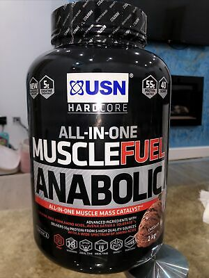 £11.99 • Buy USN Muscle Fuel Anabolic All In One Lean Muscle 2kg - Chocolate Flavour