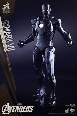 $ CDN467.60 • Buy Hot Toys Iron Man Mark VII STEALTH Sideshow Exclusive Avengers Ultron Sealed/New