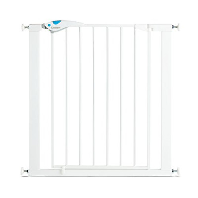 £37.24 • Buy Lindam Easy Fit Plus Deluxe Pressure Fit Safety Gate - 76-82 Cm, White