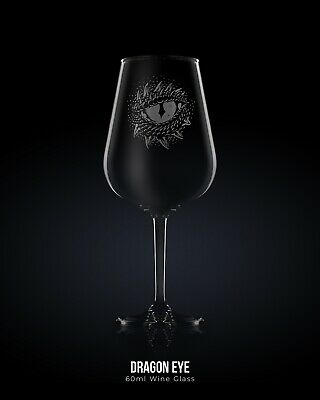 £12 • Buy Dragon Wine Glass - Lord Of The Rings / Game Of Thrones Engraved Glass