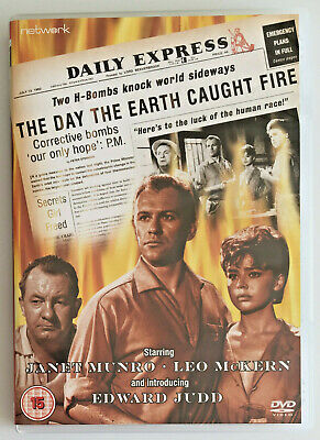 £5.99 • Buy The Day The Earth Caught Fire (DVD, 2009) Sci-Fi Disaster Film, Black & White R2
