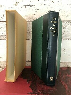 £28 • Buy Poems By Thomas Hardy Folio Society 1/4 Leather 1979 1st Thus ILLUSTRATED N/fine