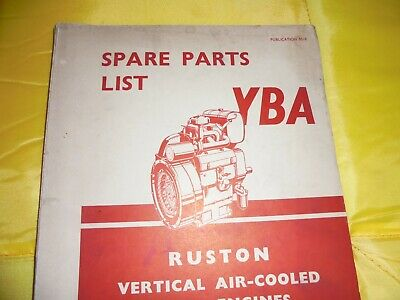 £20 • Buy Ruston And Hornsby Parts Book---YBA