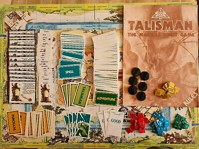 £179.99 • Buy Talisman 2nd Edition Board Game Plus Expansions - Very Rare, City, Timescape +