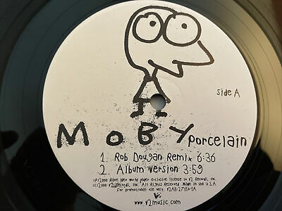 £4.95 • Buy Moby Porcelain Vinyl Single With Remix V2 Records Rare