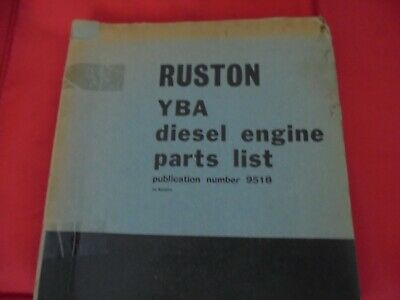 £14 • Buy Ruston And Hornsby Spares Manual YBA