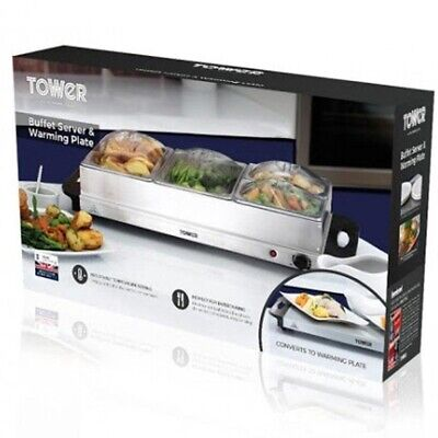 £0.99 • Buy Tower Buffet Server And Plate Warmer